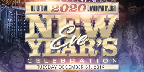 "iHEARTMEDIA Raleigh  & G105 ""OFFICIAL"" 2020 NEW YEAR'S EVE CELEBRATION tickets"