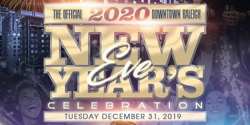 "iHEARTMEDIA Raleigh  & G105 ""OFFICIAL"" 2020 NEW YEAR'S EVE CELEBRATION"