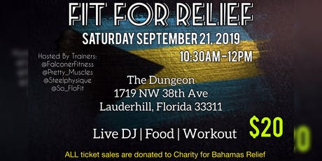 Fit For Relief tickets