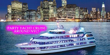 Sunset Yacht Cruise Around NYC - Party With Over 300 Singles! tickets