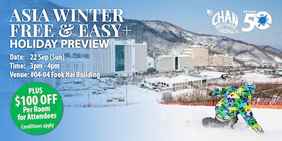 Asia Winter Free & Easy+ Holiday Preview