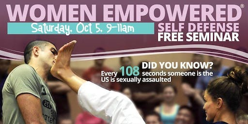 Women's FREE Self Defense Seminar