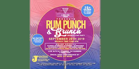 Rum Punch & Brunch tickets