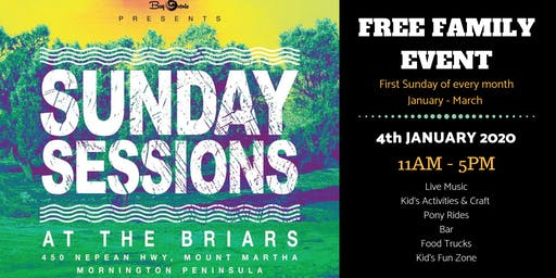 Sunday Sessions at the Briars - January 5th 2020