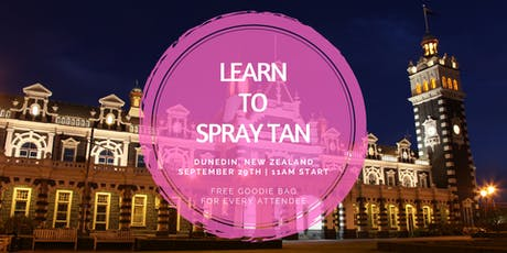 Learn To Spray Tan | Dunedin, NZ tickets