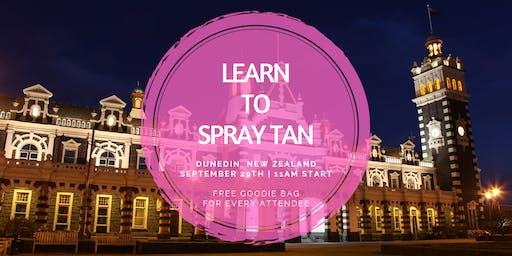 Learn To Spray Tan | Dunedin, NZ