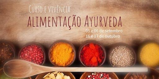 Curso e Vivência de Alimentação Ayurveda