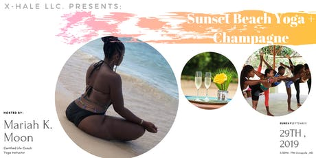 Sunset Beach Yoga + Champagne tickets