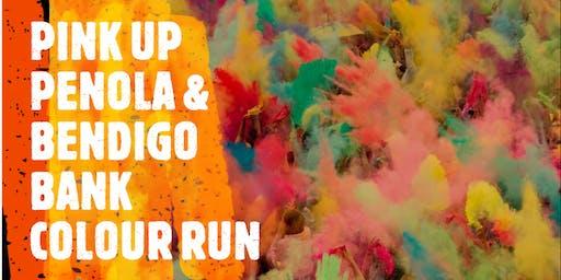 Pink Up Penola & Bendigo Bank Colour Run