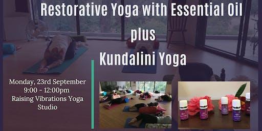 Restorative Yoga with Esssential Oils plus Kundalini Yoga