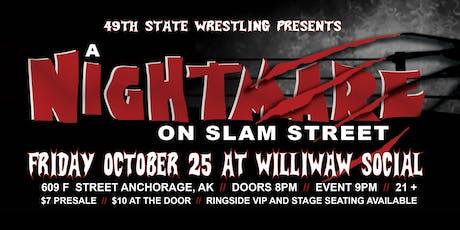 Nightmare on Slam Street tickets