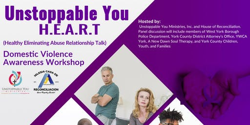 Unstoppable You H.E.A.R.T. Domestic Violence Awareness Workshop