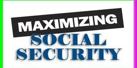 Maximizing Social Security [Tuesday Evening October 1, 2019] / Diablo Valley Community College Campus) / Class from 6:30 PM to 9:00 PM / Humanities Bldg., Room 113 tickets