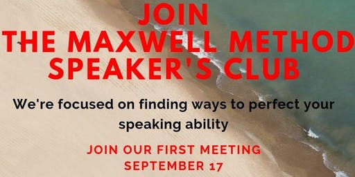 SPEAKER'S CLUB - Featuring John Maxwell & Les Brown Method of Speaking