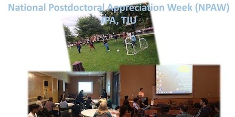 National Postdoctoral Appreciation Week (NPAW) tickets