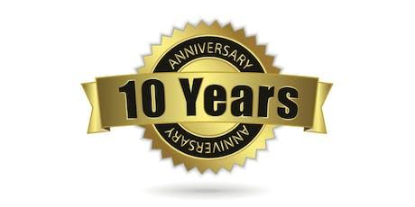 VCC BSN 10-year anniversary celebration tickets