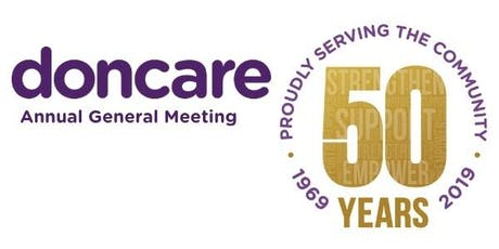 Doncare 50th Annual General Meeting  tickets