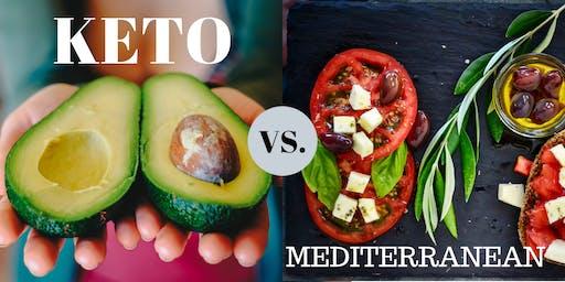 Keto vs. Mediterranean Diet