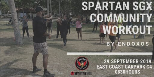SPARTAN SGX COMMUNITY WORKOUT BY ENDOXOS