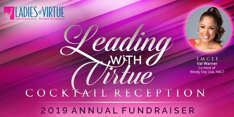 2019 Leading with Virtue Cocktail Reception tickets