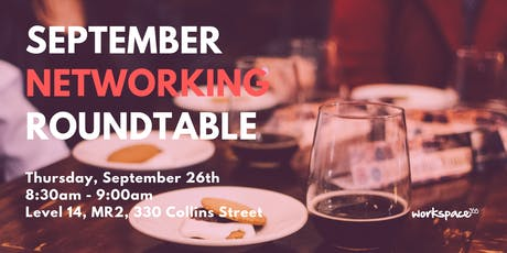 workspace365 September Networking Roundtable tickets