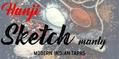 Hanji Sketch-Modern Indian Tapas tickets
