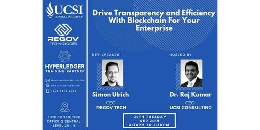 Drive Transparency and Efficiency With Blockchain For Your Enterprise