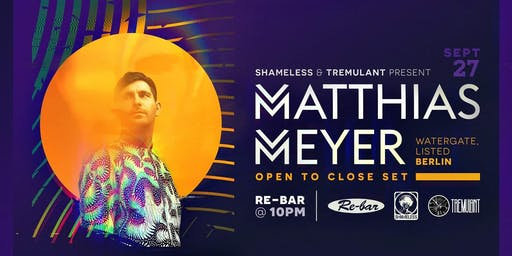 Matthias Meyer [Berlin] Open to Close Set