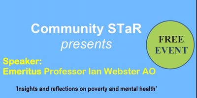 Insights and reflections on poverty and mental health