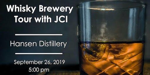 Whisky Brewery Tour with JCI Edmonton