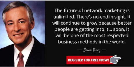Most Respected Biz were Network marketing business? You must be joking?!?! tickets