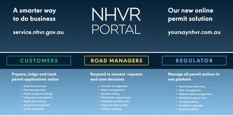 Cairns QLD - NHVR Portal Access Permits Customer Essentials Training (19 September 2019, 8.00am to 11.00am AEST) tickets