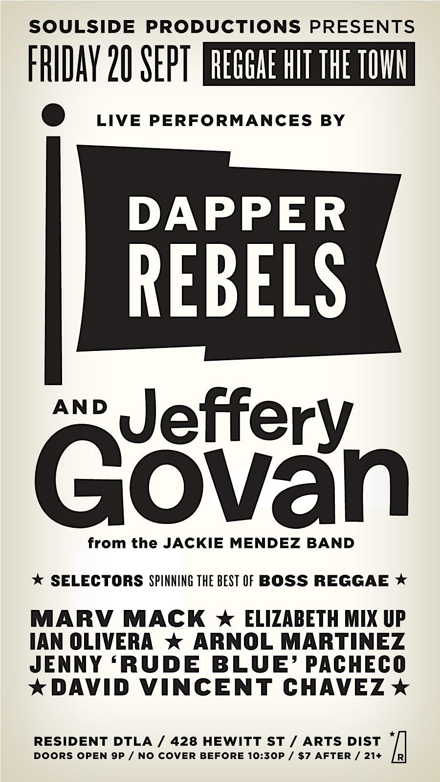 Reggae HIT the TOWN - Free B4 10:30pm