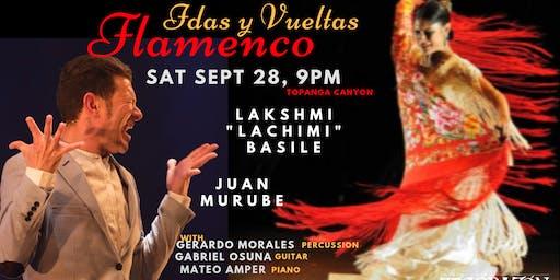 "Lakshmi ""La Chimi"" Flamenco   with Juan Murube & Encuantro Trio"