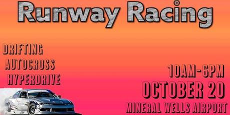 Runway Racing October 20th! tickets