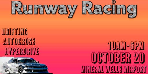 Runway Racing October 20th!