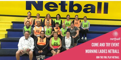 Netball ACT Morning Ladies tickets