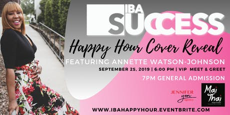 IBA Success Cover Reveal Happy Hour tickets