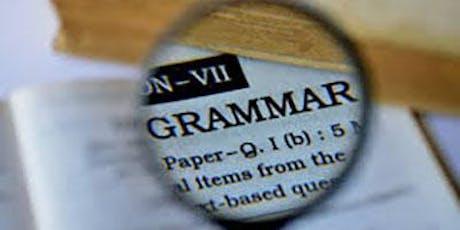 Grammar fundamentals tickets