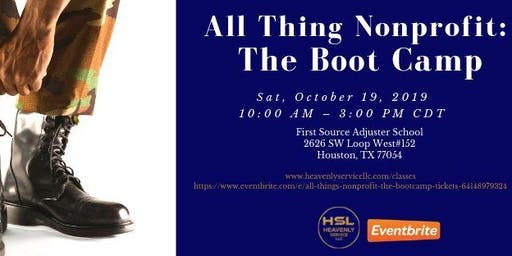 All Things Nonprofit: The Bootcamp