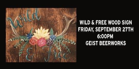 Paint Night: Wild & Free tickets