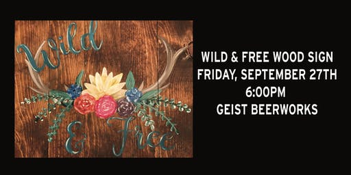 Paint Night: Wild & Free