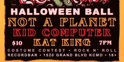 Netfl!x &Thrill Halloween Ball with Not A Planet, Kid Computer and Kat King