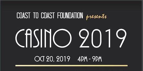 Coast To Coast Foundation presents Casino Night 2019 tickets