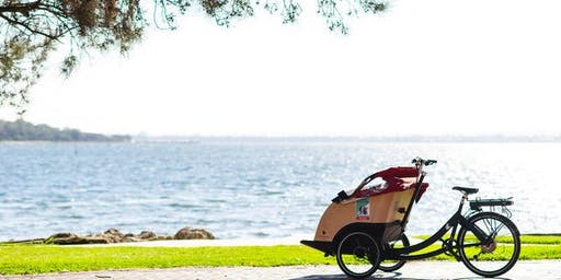 Awesome Foursome Trishaw Launch for Cycling Without Age Australia