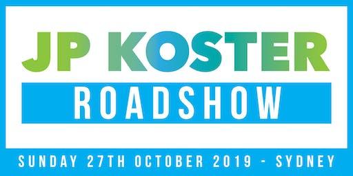 JP Koster Roadshow Event - Sydney