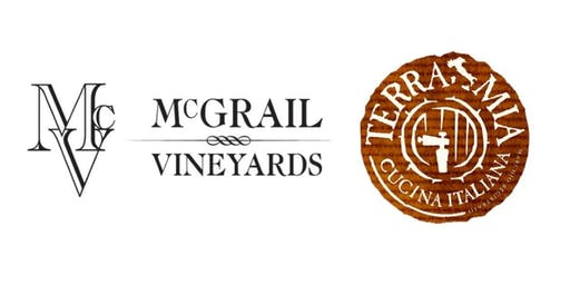 (Reservation Deposit) 5 Course Wine Dinner with McGrail Vineyards