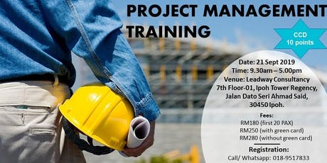 Project Management Training/ Kursus Pengurusan Projek tickets