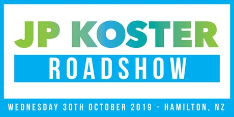 JP Koster Roadshow Event - Hamilton tickets