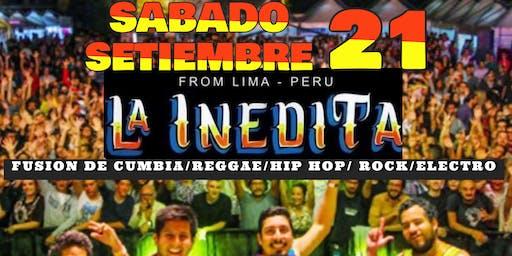 LA INEDITA : FUSION CUMBIA, CHICHA, REGGAE, ROCK